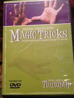 Amazing Easy to Learn Magic Tricks:  Tricks With A Thumbtip - Thumb Tip and DVD!