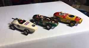 Aurora T-Jet Racers. Indy and Gran Prix  HO Slotcars
