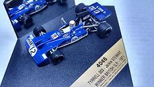1/43 Quartzo TYRRELL 003 DRIVEN BY JACKIE STEWART WINNER BRITISH GP 1971