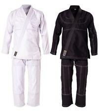 DANRHO Brazilian Jiu Jitsu Anzug 300g. Schwarz 160-190cm BJJ Suit. Gi