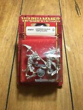 Warhammer Lizardmen Saurus Temple Guard 8585H Games Workshop Citadel New NIB