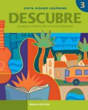 Descubre, Nivel 3,  Lengua Y Cultura Del Mundo Hispanico, , Very Good Book