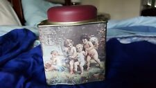 Valentine's Day Cupid, Roman angel wings picture , Hexagon Tin box with lid