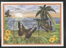Palau #600 (A176)  S/S VF MNH - 2000 $2.00 Clipper Butterfly