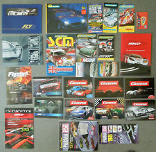 SLOT CAR CATALOGS: LARGE COLLECTION FLY, SCALEXTRIC, MRRC, CARRERA, NINCO, PARMA