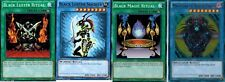 MAGICIAN OF BLACK CHAOS_BLACK MAGIC RITUAL+ Luster Soldier_& Ritual YGLD YUGIOH