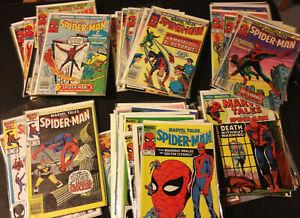50 MARVEL TALES SPIDER-MAN NO MORE REPRINT ASM 1-49 #137 138 -189 LOT FULL EPIC