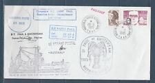 FRb enveloppe TAAF fsat Paquebot peche  ile Saint Paul et Amsterdam 1985
