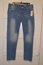 Bongo Juniors' Daredevil Skinny Jeans -  Kiss Wash Size 17
