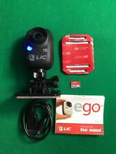 Liquid Image Ego Black Wearable Sports Action Camera 12Mp 1080p Full HD WiFi EC