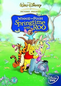 WINNIE THE POOH Springtime With Roo (Region 4) DVD Disney Spring Time