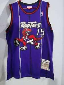 Vince Carter Toronto Raptors jersey 15 Purple Throwback Swingman Basketball
