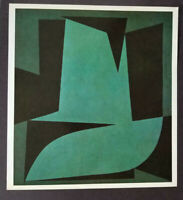 "Victor Vasarely ""Sokotora"" Mounted Offset Color Lithograph 1971"