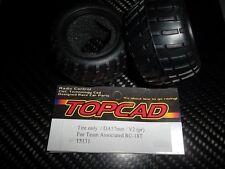 TOPCAD15131  pneus 57 mm pour ASSOCIATED RC-18T (x2)