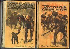 Tarzan Leibuch ab 1924 Dieck Verlag Nr. 1-6 zusammen Original