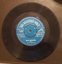Ella Fitzgerald White C|hristmas 45 rpm vinyl single
