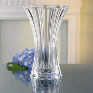 Nachtmann Saphir 30cm Lead Free Crystal Glass Vase**FREE DELIVERY**