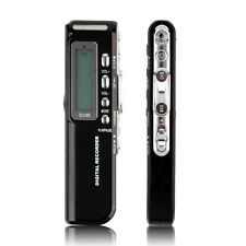 HQ Digital Voice Recorder DICTAPHONE 8GB TelePhone Record 1160 hours Mp3 player
