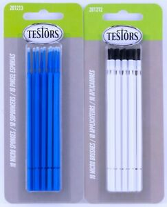 Testors Micro Brushes Micro Sponges Applicator Brush Sets Fine Detail Touch-ups