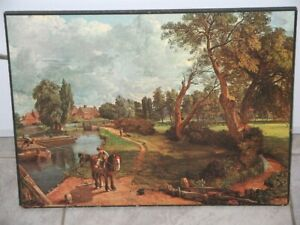 Flatford Mill - Scene on a Navigable River 1816 by John Constable RA 1776-1837