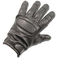 tactique rembourré sécurité Kevlar Anti tranché gants cuir noir combat SIA
