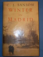 Winter in Madrid by C. J. Sansom Signed Like New True UK 1st Edition 2006