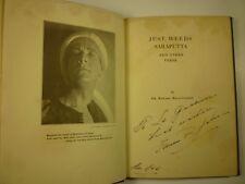 1926 Edward Riggs Johnson JUST WEEDS, SARAPUTTA & other VERSE Connecticut POET