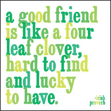 Quotable A Good Friend Greeting Card, friendship quote blank card for her unisex