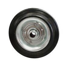 Ruota 200x50 in gomma piena, diametro per asse 20mm - NUOVO