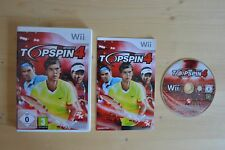 Wii - Top Spin 4 - (OVP, mit Anleitung)