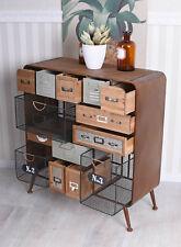 Dresser Patchwork Drawers Apothecary Cabinet Loft Wardrobe Retro Design