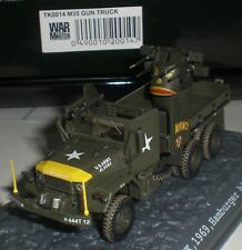WAR MASTER CAMION M35 2,5T GUN TRUCK 1969 HAMBURGER HILL VIETNAM SCALE 1:72 NEW