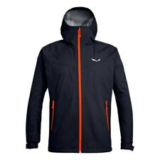 SALEWA Outdoorjacke Puez Aqua 3 PTX Lightshell - Gr. 50/L - Fb. Navy/Orange