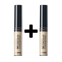 [THE SAEM] (1+1) Cover Perfection Tip Concealer - 6.5g / Free Gift