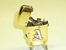 Perfecto SEMI-AUTOMATIC Empereur Brass petrol wick lighter-briquet-VERY RARE