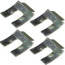 VW T1 Beetle T2 Camper Brake Pipe Hose Retaining Clips x 4 New Type 2 BUG BUS