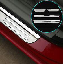 DOOR SILL PANEL SCUFF PLATE STEP COVER TRIM PROTECTOR FOR 2016 2017 HONDA CIVIC