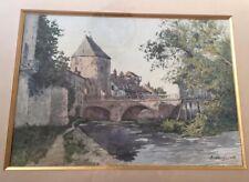 Ernest DESIGNOLLE (1850-1941) Aquarelle ( élève de Bouguereau et Harpignies )
