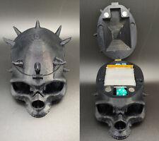 Horned Skull Deluxe Commander EDH Deck Box *custom colors available*