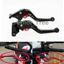Short Clutch Brake Levers For Honda CBR125R 2012 Black CNC Adjustable Aluminum