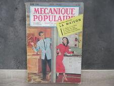Magazine Mécanique Populaire n° 94 - Mars 1954