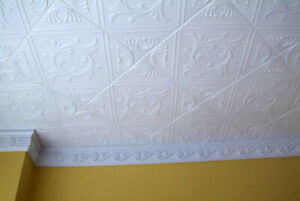 """Ceiling Tiles, Glue Up, ANET 20"""" x 20"""" White 40 PIECES"""