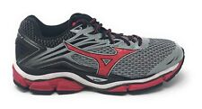 Mizuno Men's Wave Enigma 6 Running Shoe, Charcoal Gray/High Risk Red, 8.5 D Used