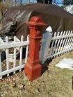 Vintage Newel Post Fabulous Oak Stairway Architectural Eastlake Victorian 1880s