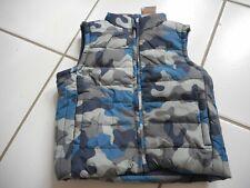 Nwt Gymboree Boy 18 24 Months Camoflage Gray Blue Vest Coat Value $39.95