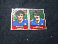 TUSSEAU FERNANDEZ  FRANCE POSTER  image sticker N° 219  FOOTBALL 85 PANINI 1985