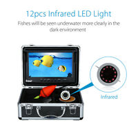 """30m 9"""" LCD 8GB Fish Finder Infrared Fishing Camera System DVR Recorder w/Battery"""