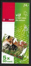Niederlande PB64, Markenheftchen Mi 63, Natur, Fuchs, **, MHE-088