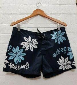 BILLABONG Label Unisex Boardshorts Surf Swimwear Swim Beach Resort Floral Shorts