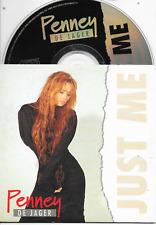 PENNEY DE JAGER - Just me CD SINGLE 2TR Dutch Cardsleeve 1995 RARE!!